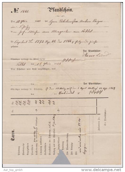 Heimat SZ Sattel 1869-03-18 Lang-O Blauschwarz NN-Brief - 1862-1881 Helvetia Assise (dentelés)