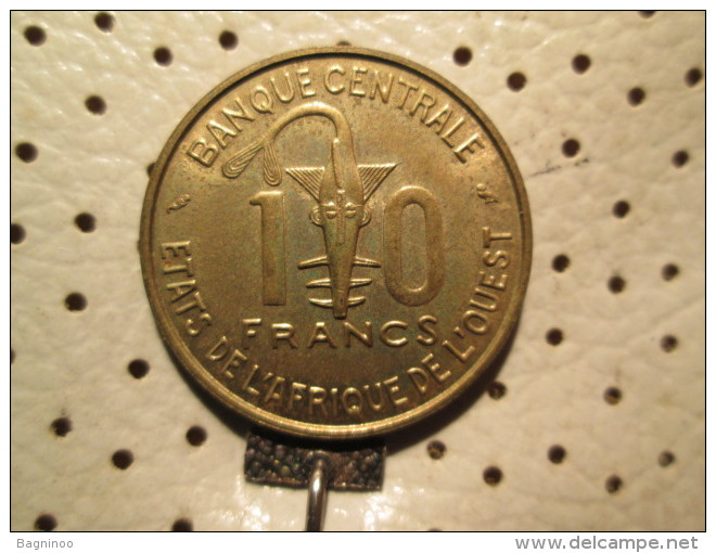 WEST AFRICAN STATES 10 Francs 1968  # 4 - Andere - Afrika