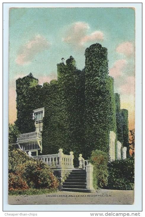 Greeba Castle, Hall Caine's Residence - Isle Of Man