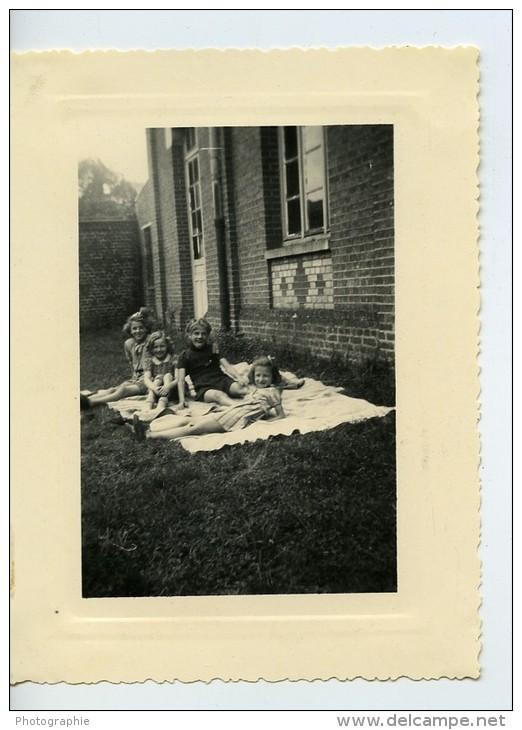 France Fives Lille Ames Vaillantes Action Catholique Origny En Thierache Ancienne Photo 1946 - Scouting