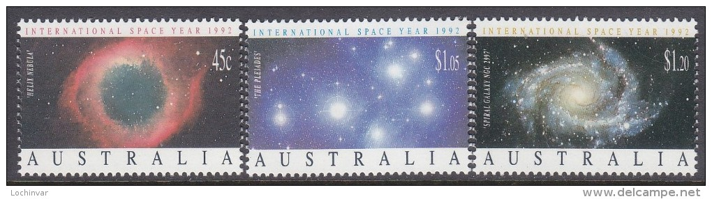 AUSTRALIA, 1992 SPACE YEAR 3 MNH - 1990-99 Elizabeth II