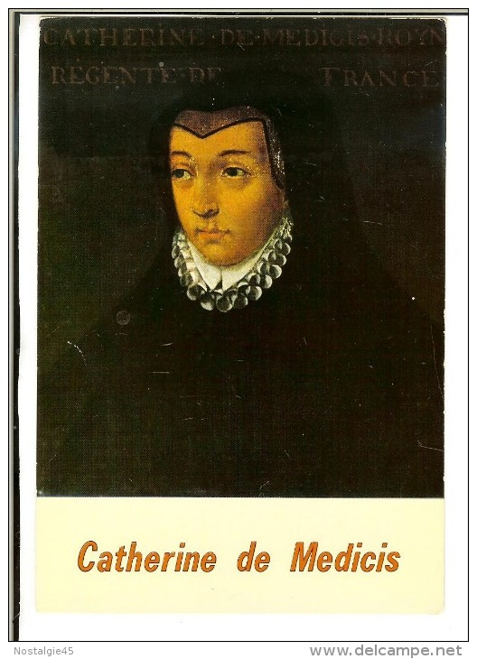 571 Ed Valoire  - Catherine De Médicis 1519-1589 Reine De France, épouse De Henri II- Chateau De Beauregard - Histoire