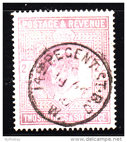 Great Britain Used Scott #139 2sh6p Edward VII, Lilac SON CDS ´149(?) Regent St B.O. MY 28 05(?) - 1902-1951 (Rois)