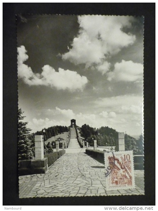Carte Postale Belgrade  Avala Monument Du Soldat Inconnu 1962 - 1945-1992 République Fédérative Populaire De Yougoslavie