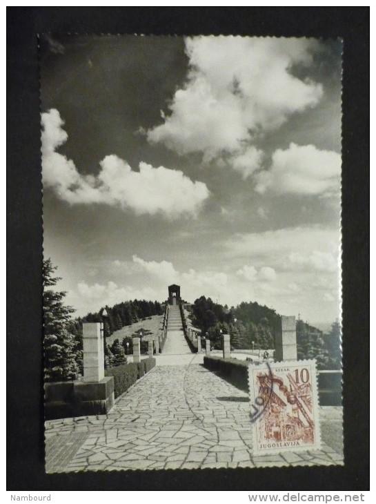 Carte Postale Belgrade  Avala Monument Du Soldat Inconnu 1962 - Lettres & Documents