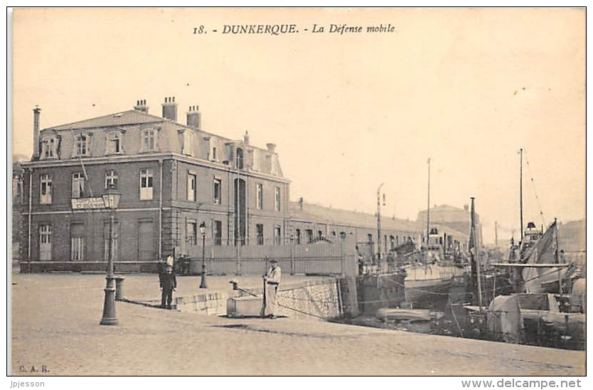 NORD  59  DUNKERQUE   LA DEFENSE MOBILE - Dunkerque
