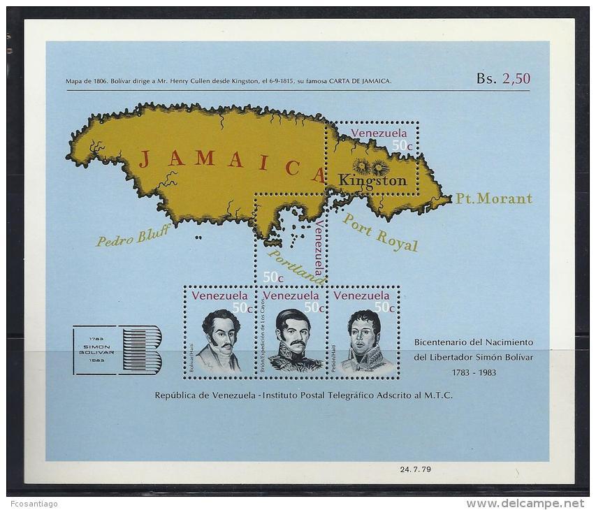 VENEZUELA 1978 - Yvert #H20 - MNH ** - Venezuela