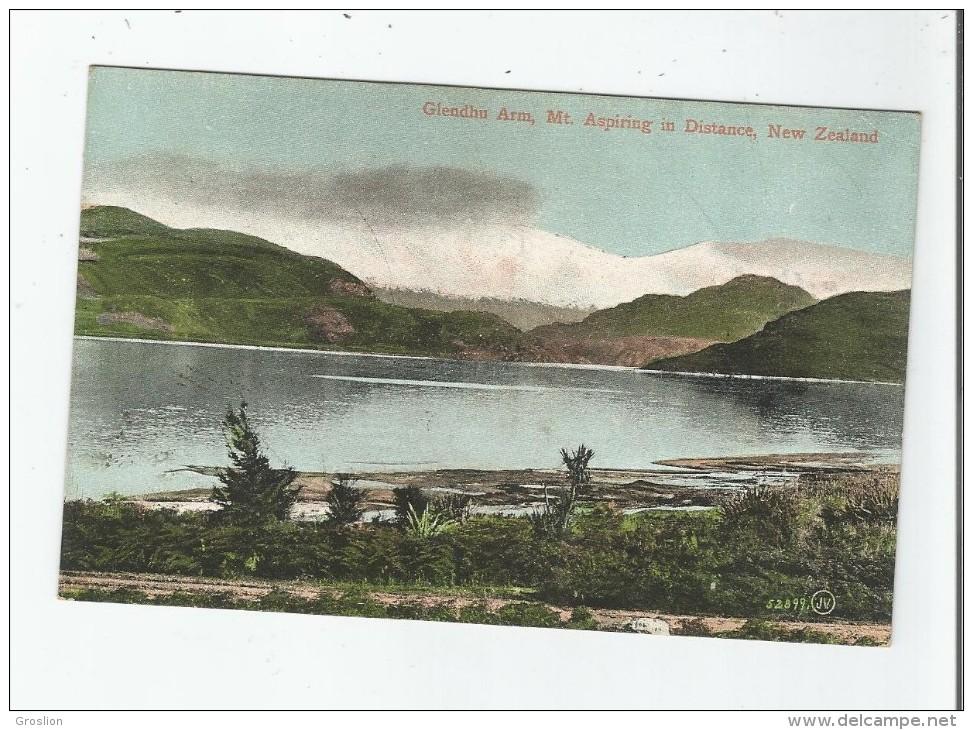 GLENDHU ARM MT.ASPIRING IN DISTANCE NEW ZEALAND 52899     1908 - Nouvelle-Zélande