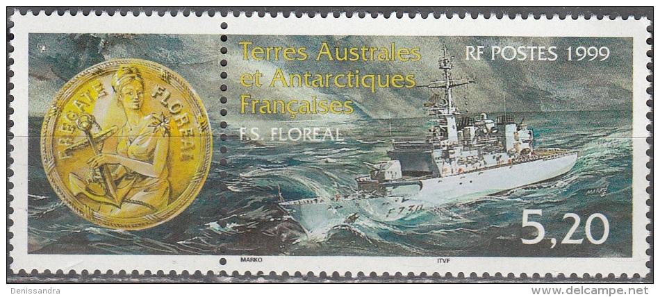 TAAF 1999 Yvert 241 Neuf ** Cote (2015) 2.70 Euro Frégate Floréal - Neufs