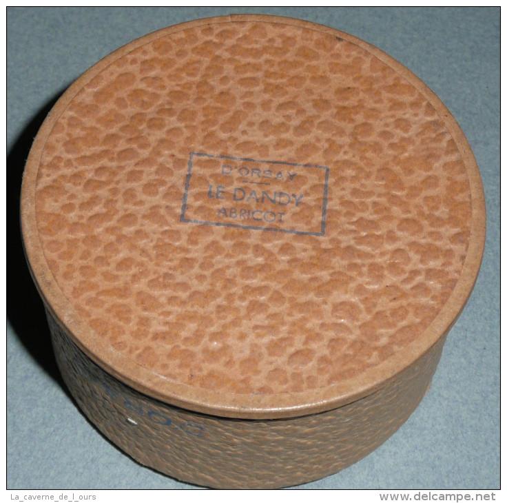 """Rare Ancienne Boite à Fond De Teint """"La Poudre D´Orsay"""" Atomisée, Parfum """"Le DANDY"""" Abricot, Poudrier Paris - Accessoires"""