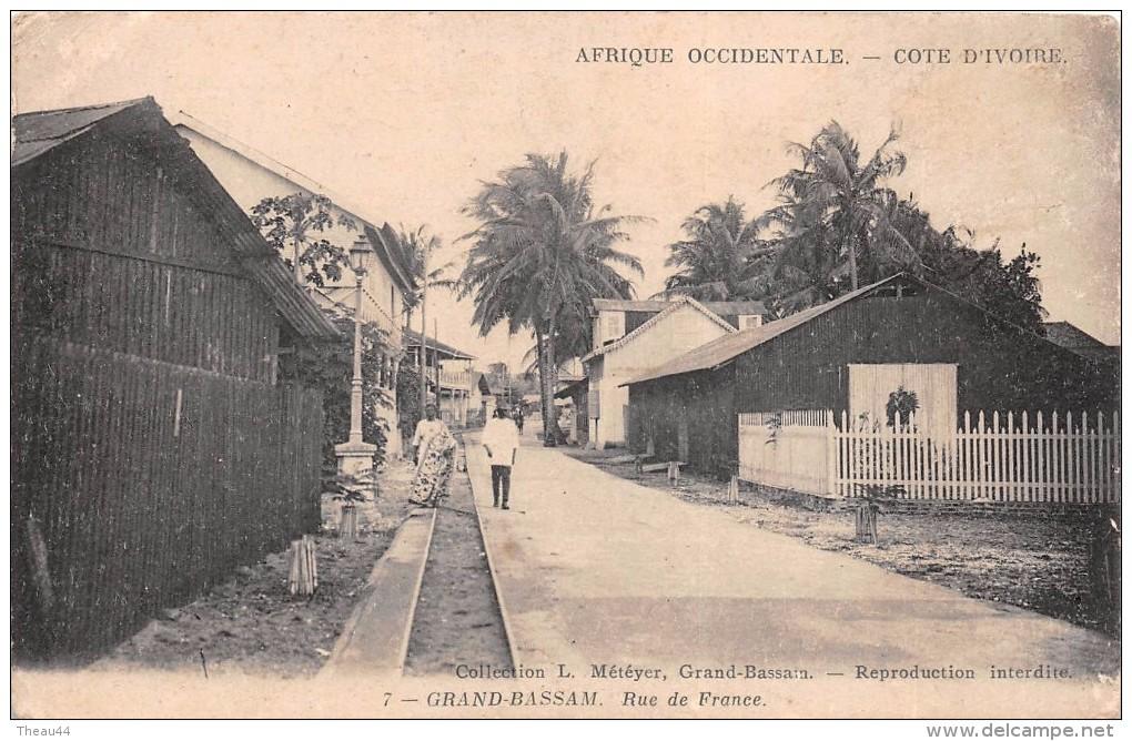 ¤¤  -   7   -   COTE-D´IVOIRE   -   GRAND-BASSAM   -  Rue De France   -  ¤¤ - Côte-d'Ivoire