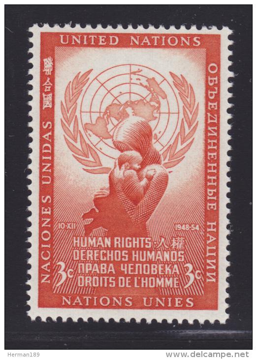 NATIONS UNIES NEW-YORK N°   29 * MLH Neuf Avec Charnière, TB  (D1296) - New York -  VN Hauptquartier