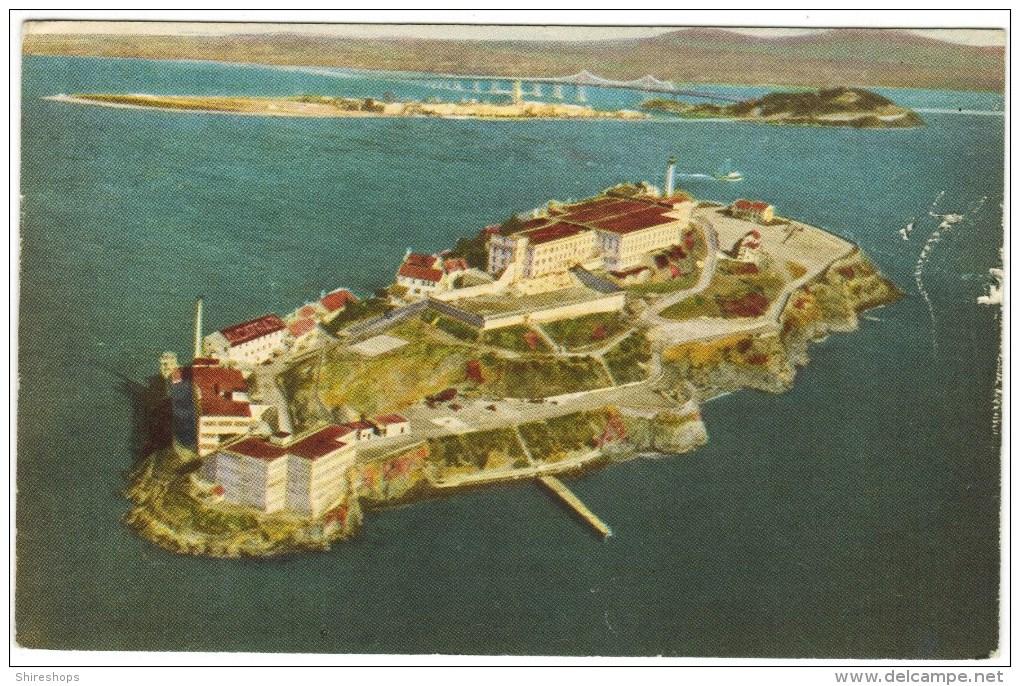The Rock, Federal Prison On 12-Acre Alcatraz Island, San Fran, CA - Prison