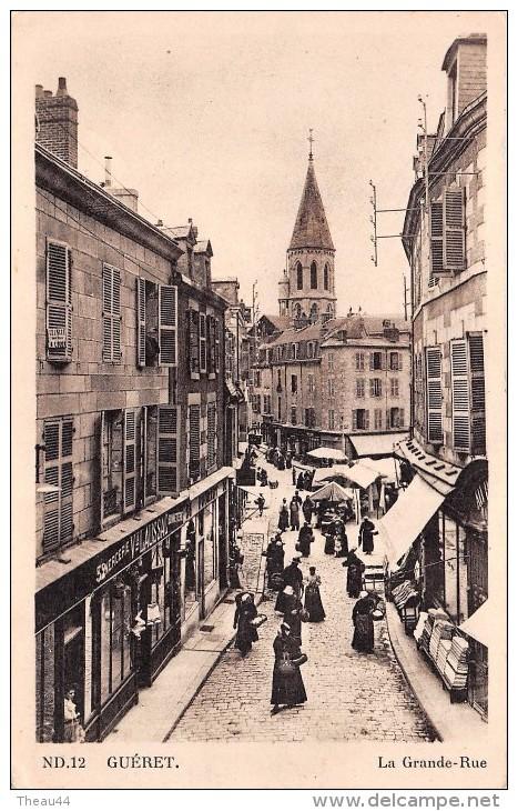 """¤¤  -  12   -  GUERET   -  La Grande Rue   -  Mercerie """" Laussac """"   -  ¤¤ - Guéret"""