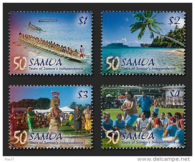 SAMOA 2012 - Paysages, Dances, Pirogue. - 4v Neufs // Mnh - Samoa