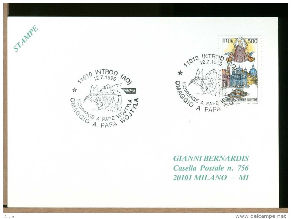 ITALIA - PAPA GIOVANNI PAOLO II - Karol Wojtyla -  INTROD - Päpste