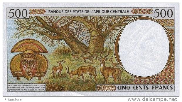 East African States - Afrique Centrale Gabon 2000 Billet 500 Francs Pick 401 G Neuf 1er Choix UNC - Gabon