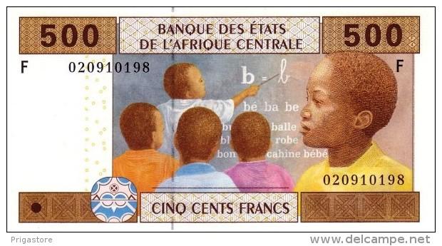 East African States - Afrique Centrale Guinée Equatoriale 2002 Billet 500 Francs Pick 506 Neuf 1er Choix UNC - Guinée Equatoriale