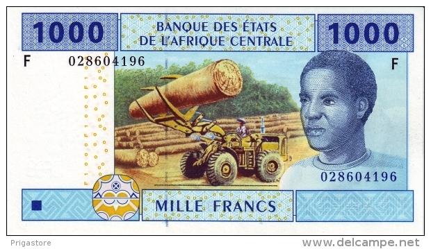 East African States - Afrique Centrale Guinée Equatoriale 2002 Billet 1000 Francs Pick 507 Neuf 1er Choix UNC - Guinée Equatoriale