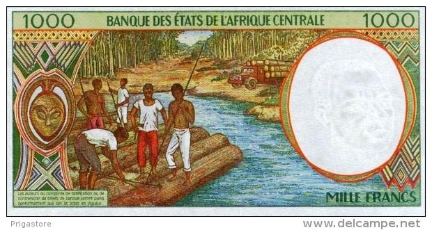 East African States - Afrique Centrale Tchad 2000 Billet 1000 Francs Pick 602 G Neuf UNC - Tchad