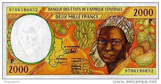 East African States - Afrique Centrale Tchad 1997 Billet 2000 Francs Pick 603 D Neuf 1er Choix UNC - Tchad