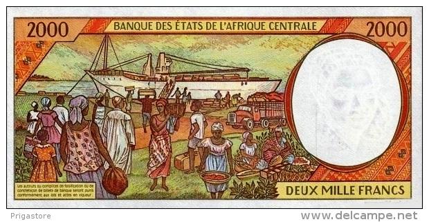 East African States - Afrique Centrale Tchad 1997 Billet 2000 Francs Pick 603 D Neuf 1er Choix UNC - Ciad