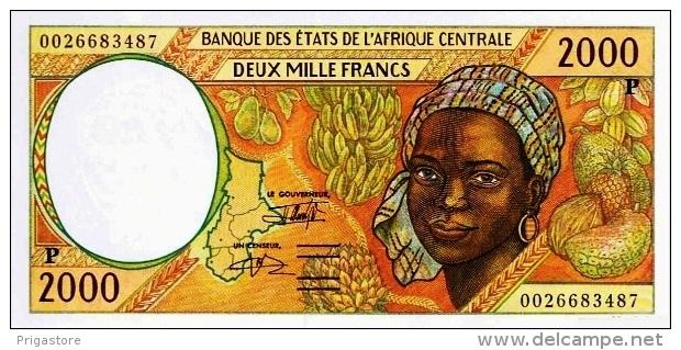 East African States - Afrique Centrale Tchad 2000 Billet 2000 Francs Pick 603 G Neuf 1er Choix UNC - Tchad