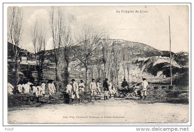 Au Polygone Du Génie  (Chasseurs Alpins)  (83972) - Non Classés