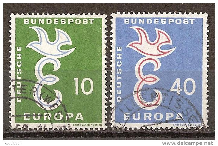 BRD 1958 // Mi. 295/296 O (M.029..583) - Europa-CEPT