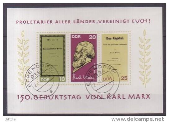 DDR,  Bl.27 , O  (3134) - [6] Oost-Duitsland