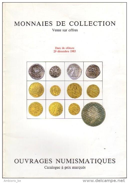 Josiane Védrines - Bernard Poindessault - Catalogue De La Vente Du 29 Décembre 1983 - Français