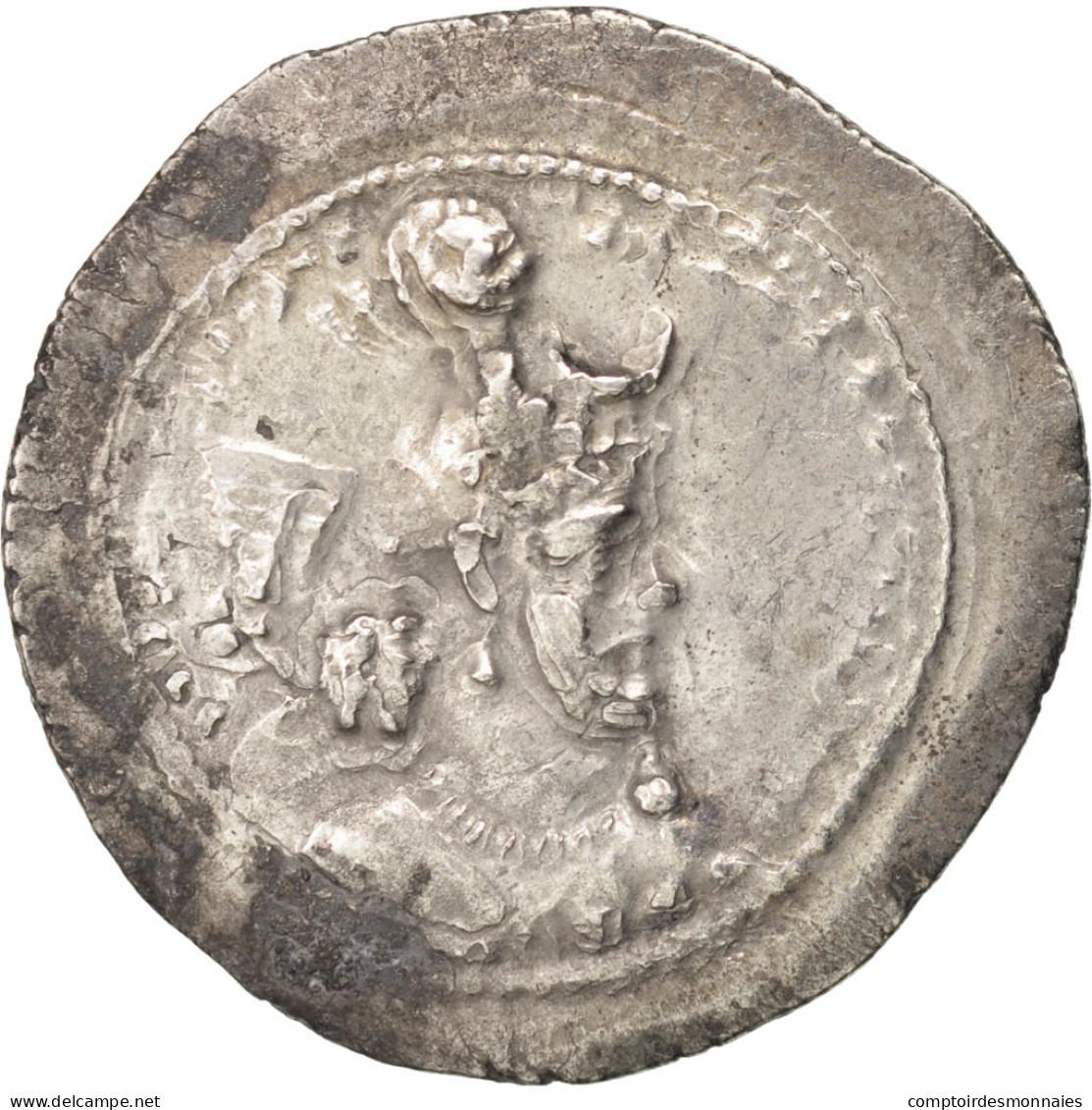 Sassanides, Yazdgard Ier (390-420), Drachme - Orientales