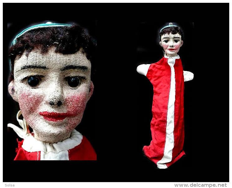 Ancienne  Marionnette Polonaise / Vintage Puppet From Poland - Marionette