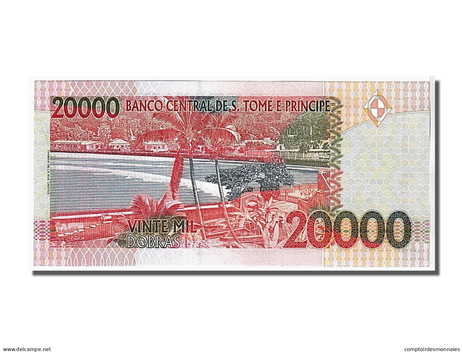Saint Thomas Et Prince, 20 000 Dobras Type R. Amador - Sao Tomé Et Principe