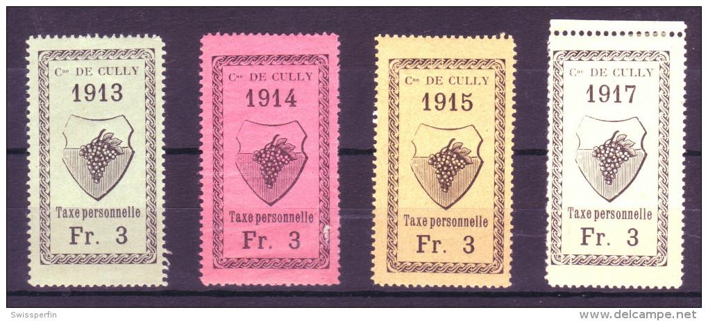 803 - CULLY - Fiskalmarken - Fiscaux