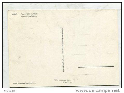 SWITZERLAND - AK 256489 Fiesch - Weisshorn - VS Valais
