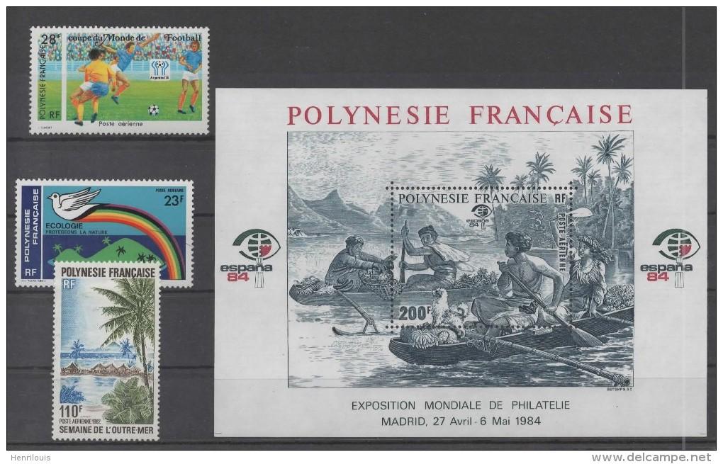 POLYNESIE  Timbres Neufs *     ( Ref 3204 ) - Blocchi & Foglietti