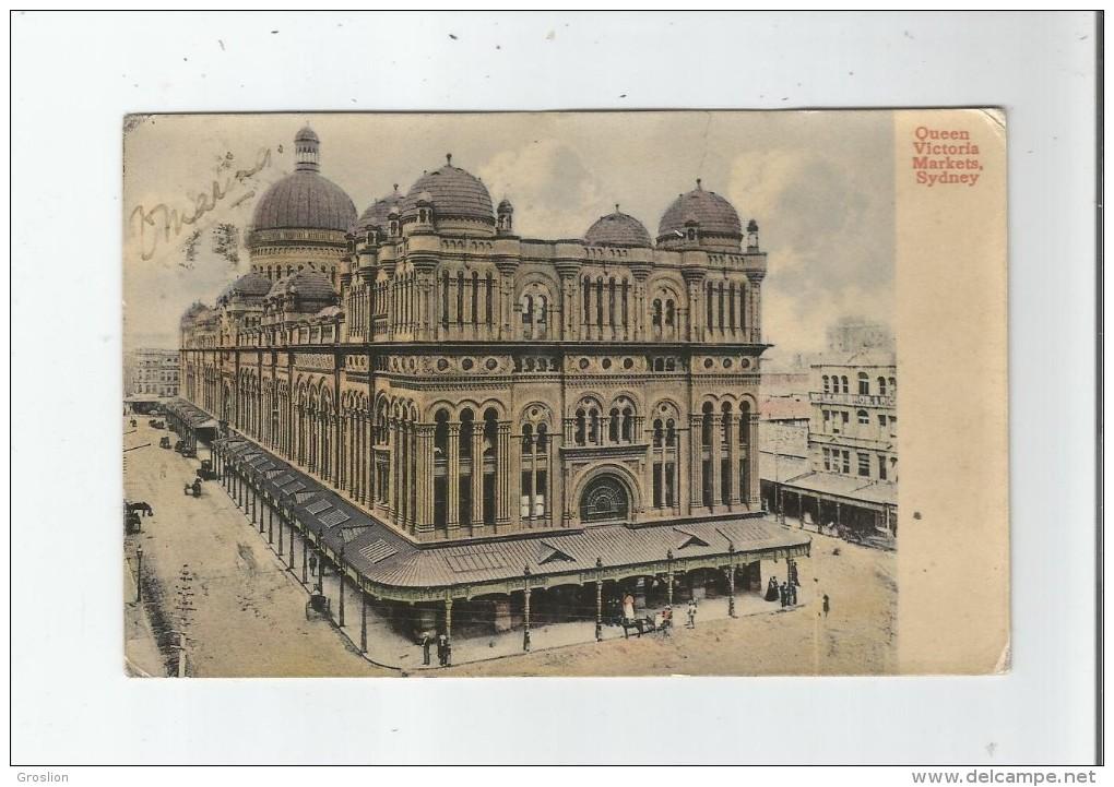 SYDNEY 1171 QUEEN  VICTORIA MARKETS - Sydney