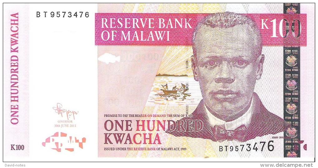 Malawi - Pick 54 - 100 Kwacha 2011 - Unc - Malawi