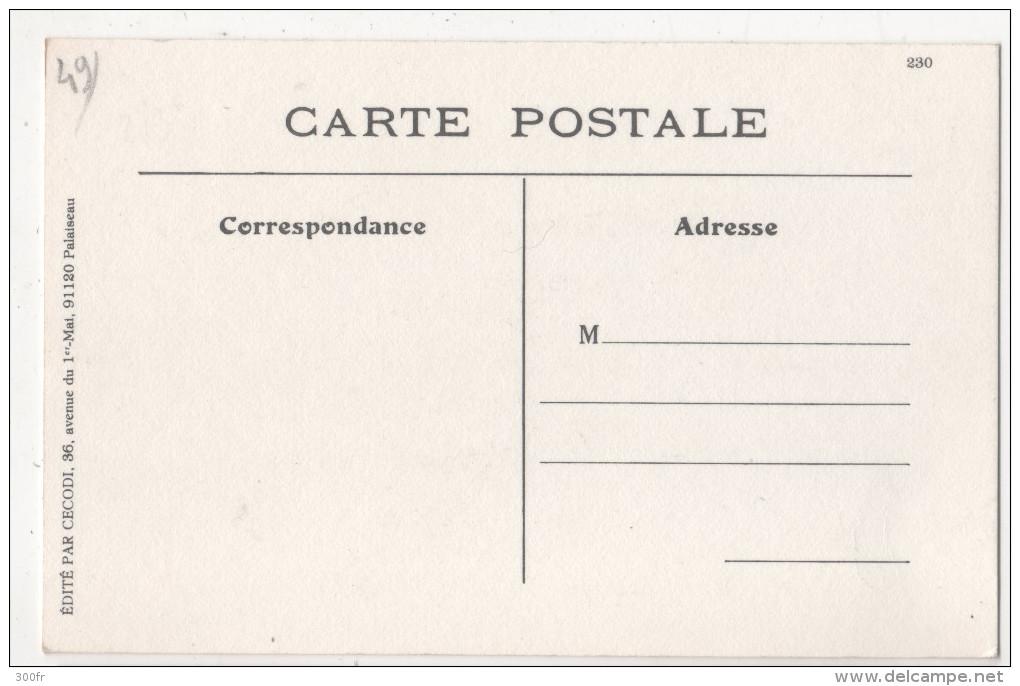 CP COMMISSION DES ARDOISIERES D´ANGERS Taille De L´Ardoise Ou Rondissage (49 MAINE Et LOIRE) - Angers