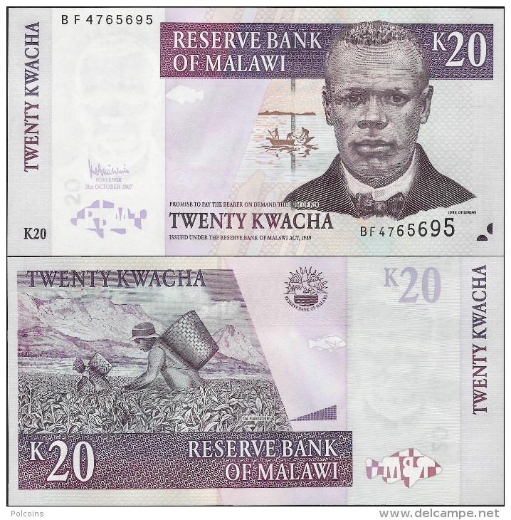 Malawi 2007 - 20 Kwacha - Pick 44 UNC - Malawi
