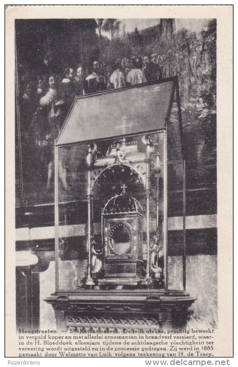 Hoogstraten Relikwiekas Heilig Bloeddok Relikwie Relique Reliquary Kempen - Hoogstraten