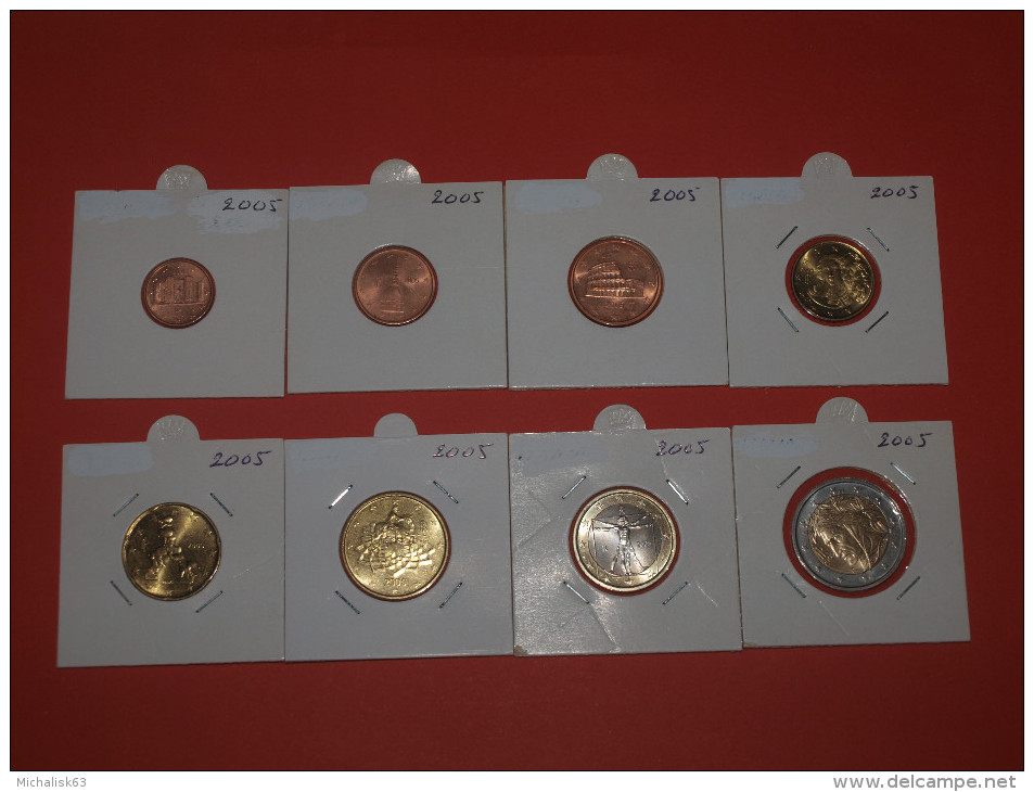 KMS ITALY - ITALIEN  (1 Cent  Bis 2 Euro) 2005 UNC - Italie
