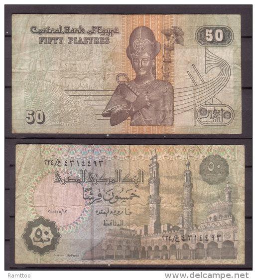 Ägypten , 50 Piastres , Signature 22 , Gebr. - Aegypten