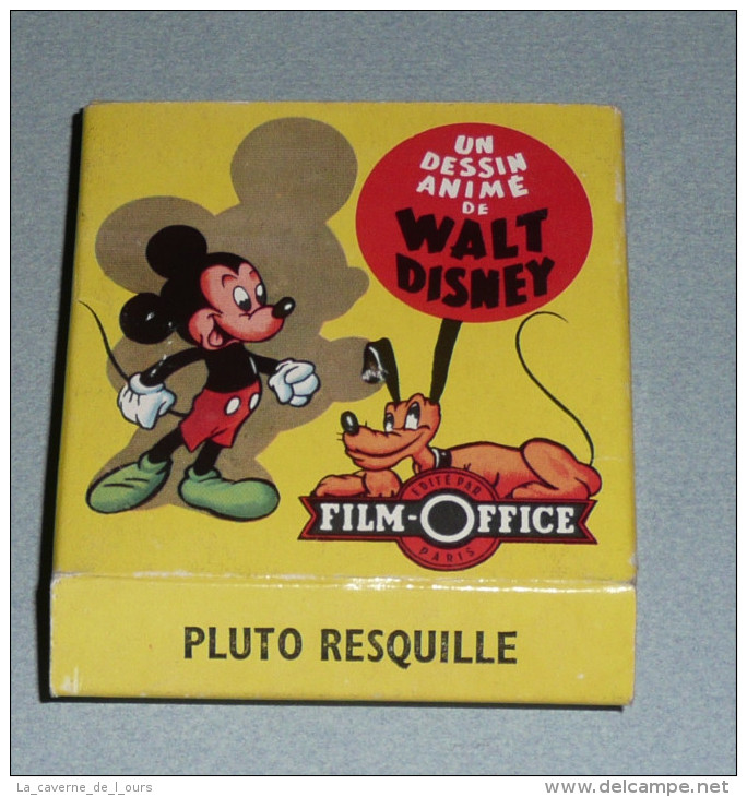 "Rare Bobine Film Super 8 Mm Walt Disney Film Office ""Pluto Resquille"" S8 Super8 Huit, Dessins Animés, Mickey - Filmspullen: 35mm - 16mm - 9,5+8+S8mm"