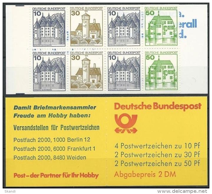 DEUTSCHLAND 1984 MI-NR. MARKENHEFT 22 Ad K2 ** MNH (139) - Carnets