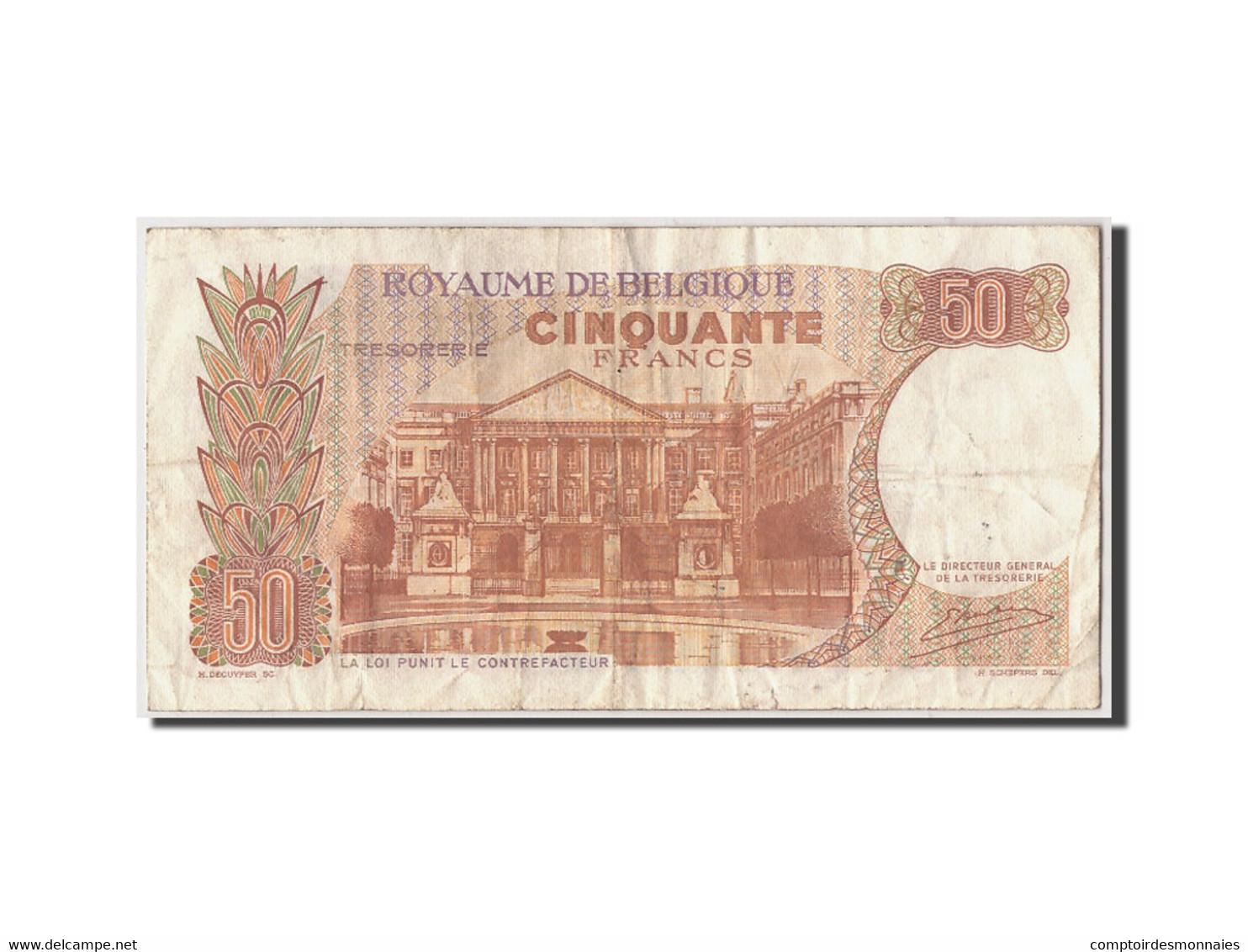 Belgique, 50 Francs, 1966, KM:139, 1966-05-16, TB - [ 6] Staatskas