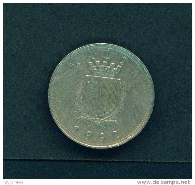 MALTA  -  1992  10c  Circulated Coin - Malta