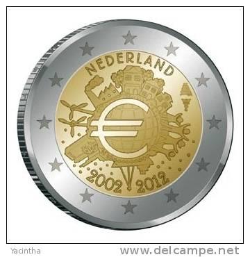 @Y@  Nederland  2 Euro  Com.   10 Jaar Euro  2002-2012 - Nederland