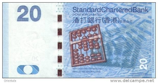 HONG KONG P. 297a 20 D 2010 UNC - Hong Kong